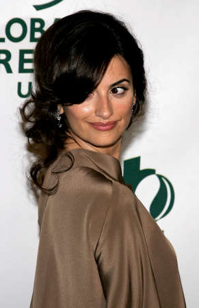 Penelope Cruz at the Global Green USA Pre-Oscar Celebration to Benefit Global Warming held at the Avalon in Hollywood, USA on February 21, 2007. Editorial