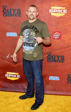 Chuck Liddell at the Spike TVs 2nd Annual Guys Choice Awards held at the Sony Pictures Studios in Culver City, California, United States on May 30, 2008.
