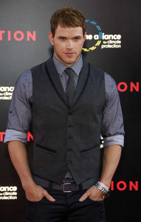 inception: Kellan Lutz at the Los Angeles premiere of Inception held at the Graumans Chinese Theater in Hollywood, USA July 13, 2010. Editorial