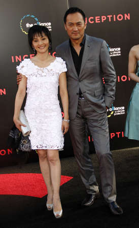 inception: Ken Watanabe at the Los Angeles premiere of Inception held at the Graumans Chinese Theater in Hollywood, USA July 13, 2010. Editorial