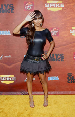 Meagan Good at the Spike TVs 2nd Annual Guys Choice Awards held at the Sony Pictures Studios in Culver City, USA on May 30, 2008. Editorial