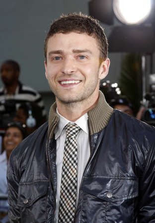 Justin Timberlake at the Los Angeles premiere of Love Guru held at the Graumans Chinese Theater in Hollywood, USA on June 11, 2008.