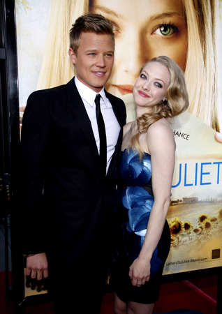 amanda: Amanda Seyfried  and Chris Egan at the Los Angeles premiere of Letters To Juliet held at the Graumans Chinese Theater in Hollywood, USA on May 11, 2010.