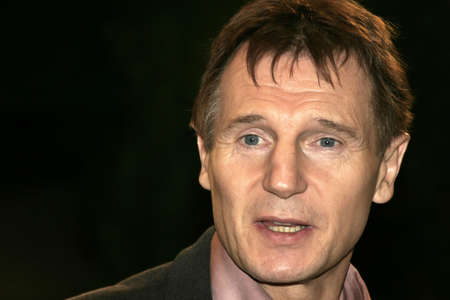 Liam Neeson at the Los Angeles premiere of Fox Searchlight Pictures Kinsey held at the Mann Village in Westwood, USA on November 8, 2004.