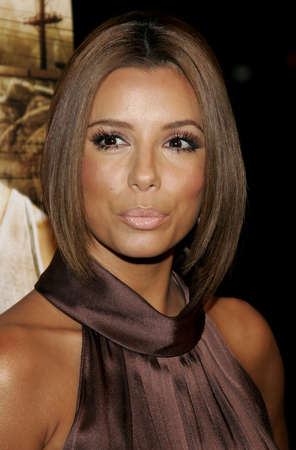 Eva Longoria at the Los Angeles premiere of Harsh Times held at the Crest Theater in Westwood, USA on November 5, 2006.