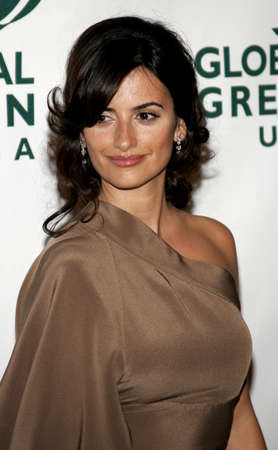 Penelope Cruz at the Global Green USA Pre-Oscar Celebration to Benefit Global Warming held at the Avalon in Hollywood, California on February 21, 2007.