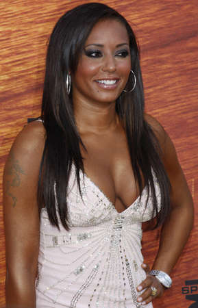Mel B at the Spike TVs 2nd Annual Guys Choice Awards held at the Sony Pictures Studios in Culver City, California, United States on May 30, 2008.