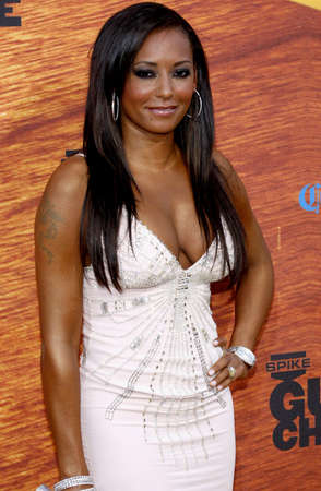 mel: Melanie Brown aka Mel B at the Spike TVs 2nd Annual Guys Choice Awards held at the Sony Pictures Studios in Culver City, USA on May 30, 2008.