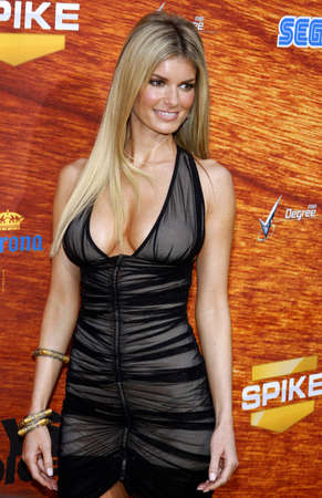 Marisa Miller at the Spike TVs 2nd Annual Guys Choice Awards held at the Sony Pictures Studios in Culver City, USA on May 30, 2008. Editorial