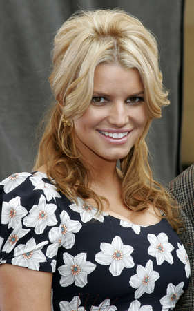 Jessica Simpson and Blockbuster Launch Blockbuster Total Access held at the Kodak Theatre in Hollywood, California, United States on November 2, 2006.