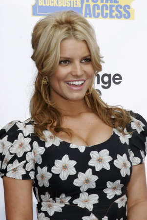 Jessica Simpson and Blockbuster Launch Blockbuster Total Access held at the Kodak Theatre inHollywood, California United States on November 2, 2006.