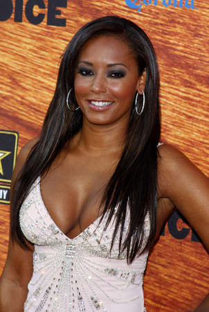 Mel B aka Melanie Brown at the Spike TVs 2nd Annual Guys Choice Awards held at the Sony Studios in Culver City, USA on May 30, 2008. Editorial
