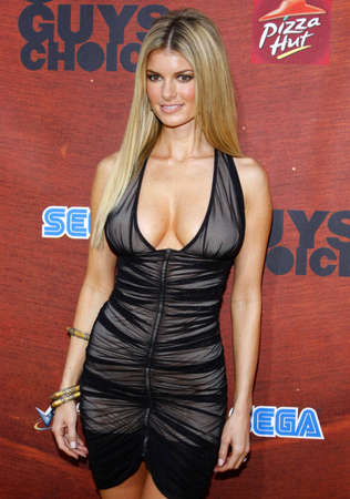 Marisa Miller at the Spike TV 2nd Annual Guys Choice Awards held at the Sony Pictures Studios in Culver City, USA on May 30, 2008.