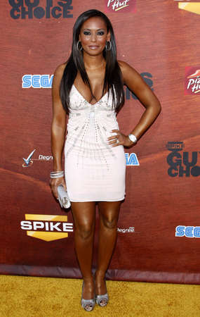 Mel B at the Spike TV 2nd Annual Guys Choice Awards held at the Sony Pictures Studios in Culver City, USA on May 30, 2008.