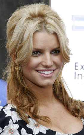 Jessica Simpson and Blockbuster Launch Blockbuster Total Access held at the Kodak Theatre in Hollywood, USA on November 2, 2006.