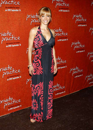 KaDee Strickland at the Season One DVD Launch of Private Practice held at the Roosevelt Hotels Tropicana Bar in Hollywood, USA on September 2, 2008.