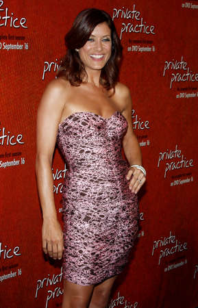 roosevelt hotel: Kate Walsh at the Season One DVD Launch of Private Practice held at the Tropicana Bar, Roosevelt Hotel in Hollywood, USA on September 2, 2008.