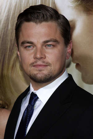 Leonardo DiCaprio at the Los Angeles premiere of 'Revolutionary Road' held at the Mann Village Theater in Westwood, USA on December 15, 2008. Standard-Bild - 111246130