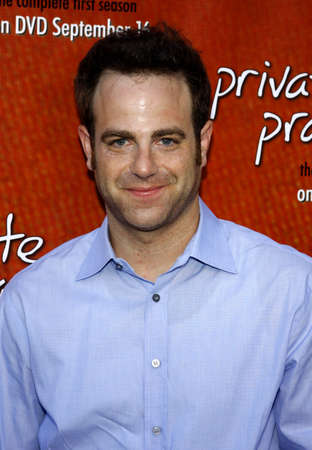 roosevelt hotel: Paul Adelstein at the Season One DVD Launch of Private Practice held at the Tropicana Bar, Roosevelt Hotel in Hollywood, USA on September 2, 2008. Editorial