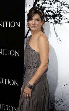 Sandra Bullock at the Los Angeles premiere of