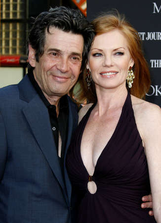 Alan Rosenberg and Marg Helgenberger at the Los Angeles premiere of Mr. Brooks held at the Graumans Chinese Theater in Hollywood, USA on May 22, 2007. Editöryel