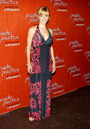 KaDee Strickland at the Season One DVD Launch of Private Practice held at the Tropicana Bar, Roosevelt Hotel, Hollywood, USA on September 2, 2008. Editorial