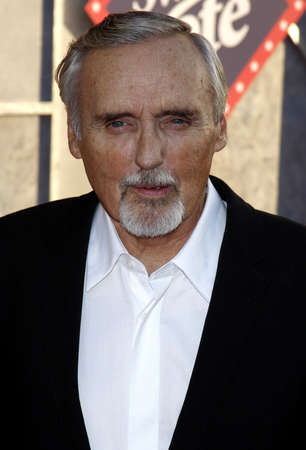 hopper: Dennis Hopper at the World Premiere of Swing Vote held at the El Capitan Theater in Hollywood, USA on July 24, 2008.