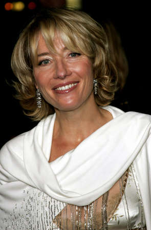 Emma Thompson at the Los Angeles premiere of Stranger Than Fiction held at the Mann Village Theatre in Westwood, USA on October 30, 2006. Editorial