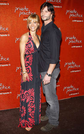 roosevelt hotel: KaDee Strickland and Jason Behr at the Season One DVD Launch of Private Practice held at the Tropicana Bar, Roosevelt Hotel in Hollywood, USA on September 2, 2008. Editorial