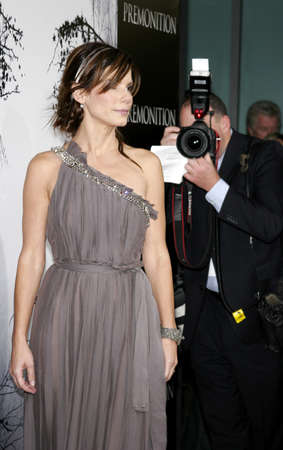 Sandra Bullock at the Los Angeles premiere of Premonition held at the Cinerama Dome in Hollywood, USA on March 12, 2007.