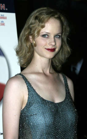 Thora Birch at the Los Angeles premiere of 'Silver City' held at the Arclight Cinerama Dome in Hollywood, USA on September 14, 2004.