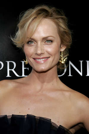 Amber Valletta at the Los Angeles Premiere of Premonition held at the Cinerama Dome in Hollywood, USA on March 12, 2007.
