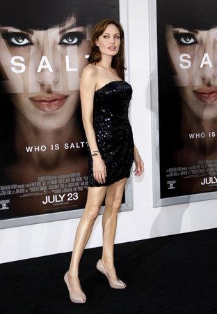 アンジェリーナ ・ ジョリー「塩」のロサンゼルス ・ プレミアでは 2010 年 7 月 19 日にアメリカ合衆国ロサンゼルス、グローマンズ ・ チャイニーズ