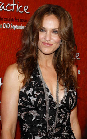 roosevelt hotel: Amy Brenneman at the Season One DVD Launch of Private Practice held at the Tropicana Bar, Roosevelt Hotel in Hollywood, USA on September 2, 2008.