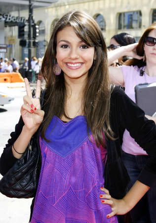 Victoria Justice at the World premiere of
