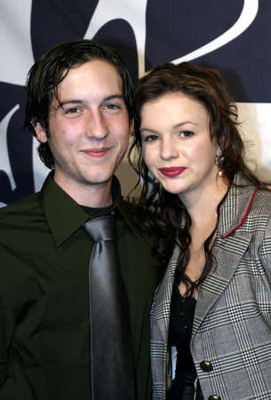 Chris Marquette and Amber Tamblyn at the Big Brothers Big Sisters of greater Los Angeles & the Inland Empire to honor top entertainment industry talent at Rising Stars 2004 Gala at the Beverly Hilton Hotel in Beverly Hills, USA on November 11, 2004.