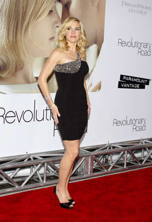 Kate Winslet at the Los Angeles premiere of Revolutionary Road held at the Mann Village Theater in Westwood, USA on December 15, 2008.