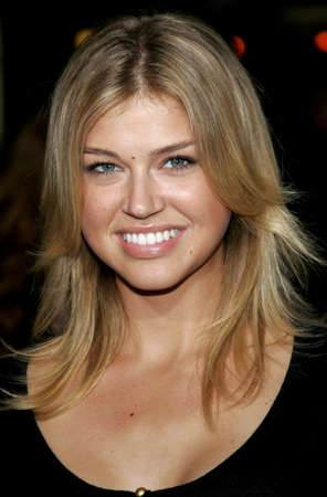 Adrianne Palicki at the Los Angeles premiere of Stranger Than Fiction held at the Mann Village Theatre in Westwood, USA on October 30, 2006.