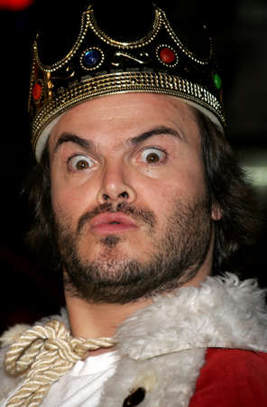 Jack Black at the Los Angeles premiere of Tenacious D: The Pick of Destiny held at the Graumans Chinese Theatre in Hollywood, California, United States on November 9, 2006.