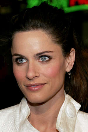 Amanda Peet at the Los Angeles premiere of Smokin Aces held at the Graumans Chinese Theatre in Hollywood, USA on January 18, 2007.