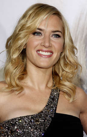 Kate Winslet at the World premiere of Revolutionary Road held at the Mann Village Theater in Westwood, USA on August 15, 2008. Editorial