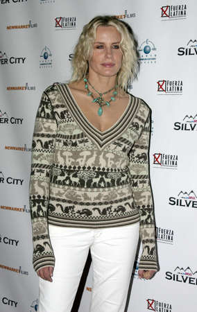 Daryl Hannah at the Los Angeles premiere of 'Silver City' held at the Arclight Cinerama Dome in Hollywood, USA on September 14, 2004.