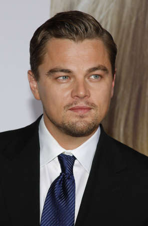 """Leonardo DiCaprio en el estreno mundial de """"Revolutionary Road"""" celebrado en el Mann Village Theatre en Westwood, California, Estados Unidos, el 15 de diciembre de 2008."""