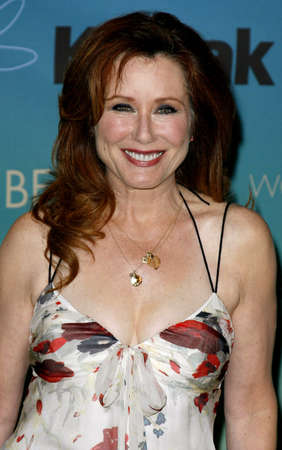 Mary McDonnell at the Women In Film Presents The 2007 Crystal and Lucy Awards held at the Beverly Hilton Hotel in Beverly Hills, USA on June 14, 2007.