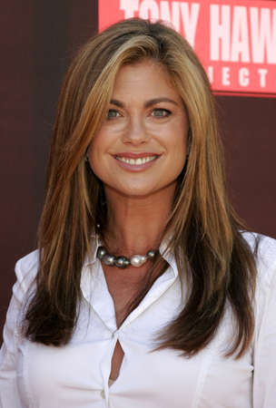 Kathy Ireland at the Tony Hawk Foundation 3rd Annual Stand Up For Skateparks held at the Green Acres Estate in Beverly Hills, California, United States on November 5, 2006.