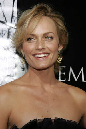 premonition: Amber Valletta at the World premiere of Premonition held at the Cinerama Dome in Hollywood, USA on March 12, 2007.