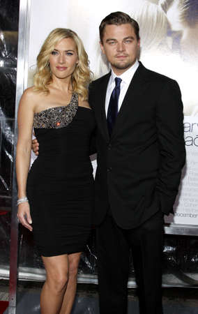 Kate Winslet and Leonardo DiCaprio at the World premiere of