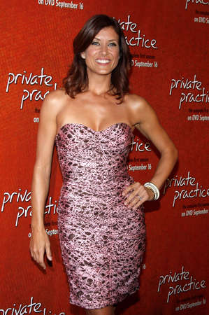 Kate Walsh at the Seasn One DVD Launch of Private Practice held at the Tropicana Bar, Roosevelt Hotel in Hollywood, USA on September 2, 2008.