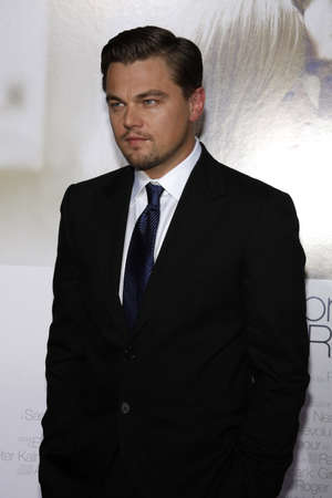 revolutionary: Leonardo DiCaprio at the Los Angeles premiere of Revolutionary Road held at the Mann Village Theater in Westwood, USA on December 15, 2008.