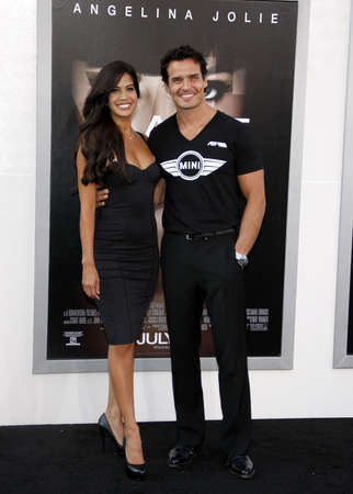 Antonio Sabato Jr. at the Los Angeles premiere of Salt held at the Graumans Chinese Theater in Hollywood, USA on July 19, 2010.
